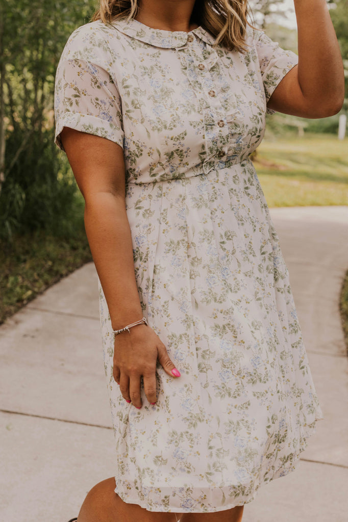 Flowy Floral Dress | ROOLEE