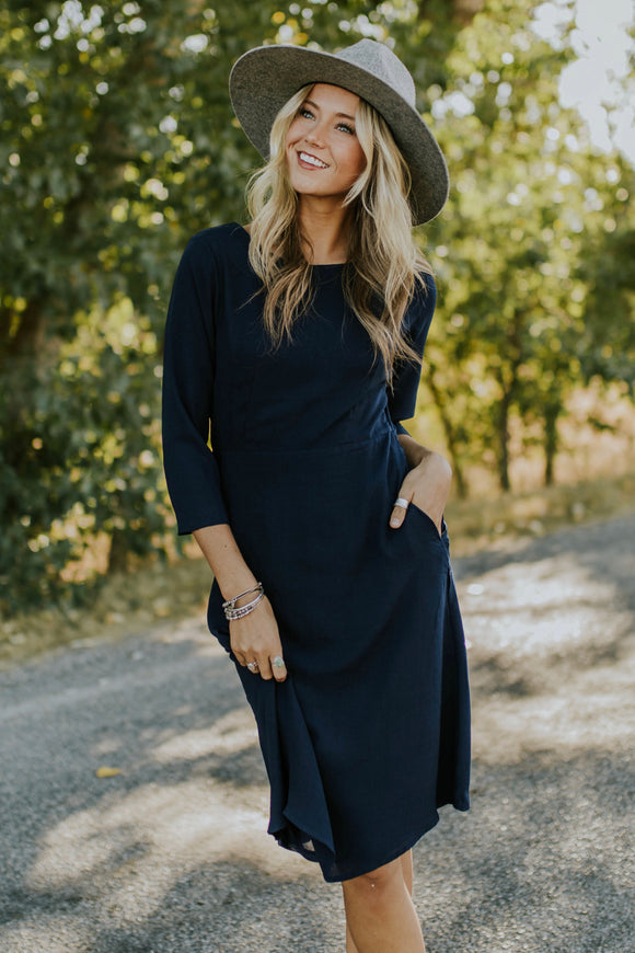Moonstruck Pocket Dress | ROOLEE