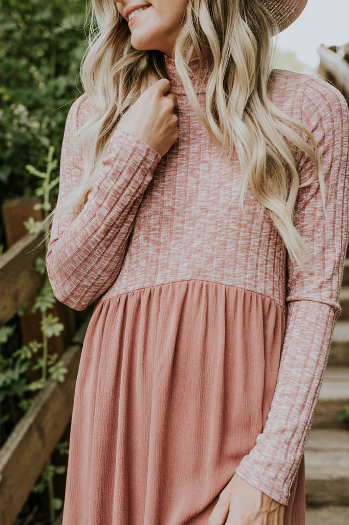 Mauve Fall Dress | ROOLEE