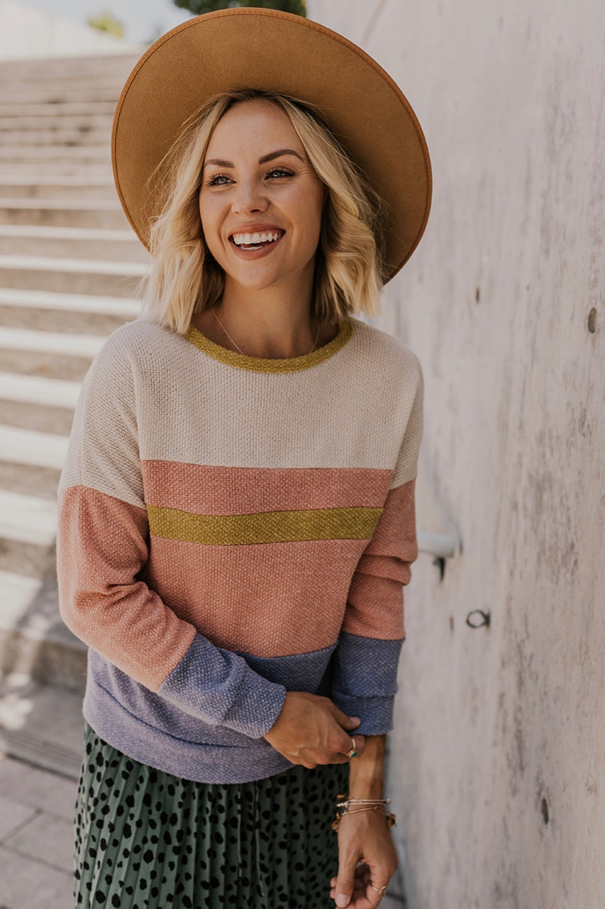 Jeremiah Stripe Sweater