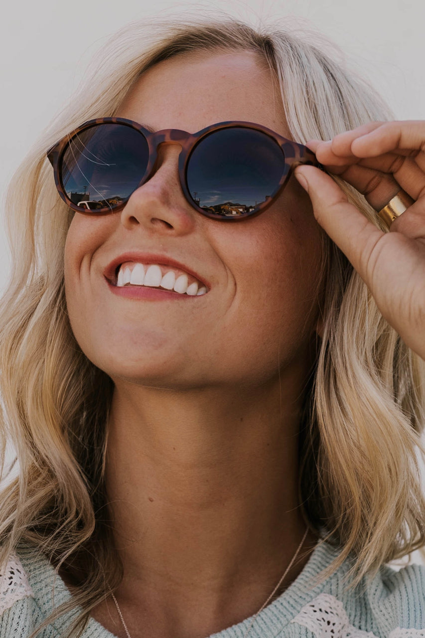 Leopard Print Sunglasses for Women | ROOLEE