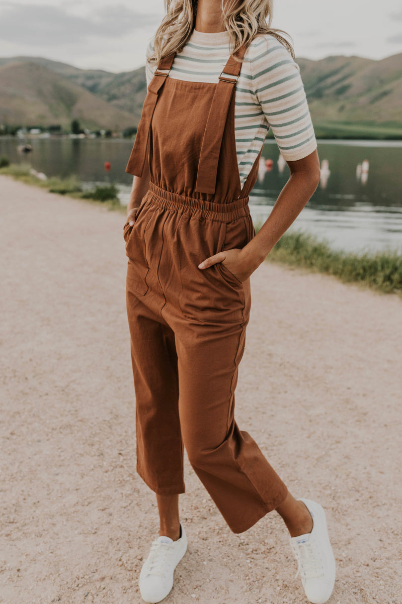 Trendy Overalls Outfit | ROOLEE