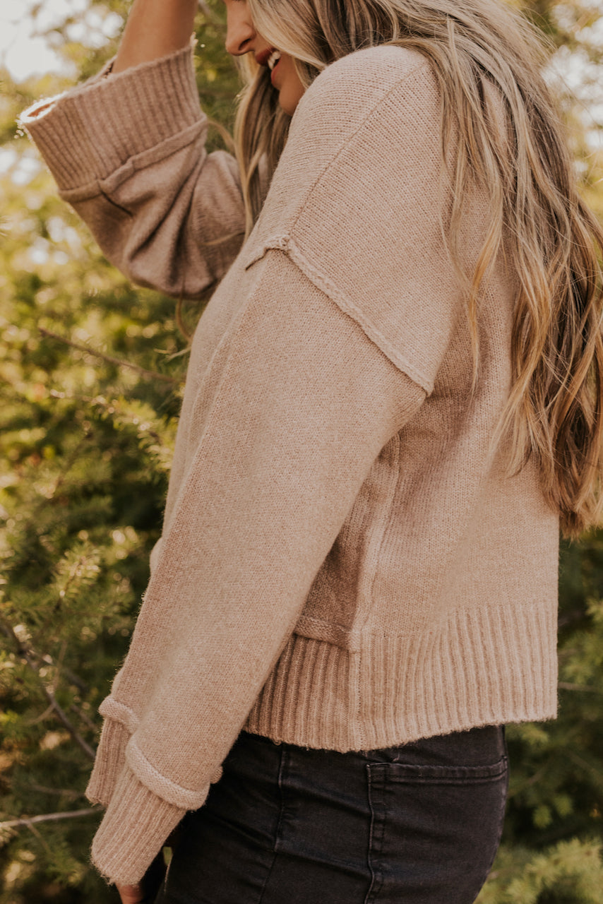 Knitted Sweater Top | ROOLEE