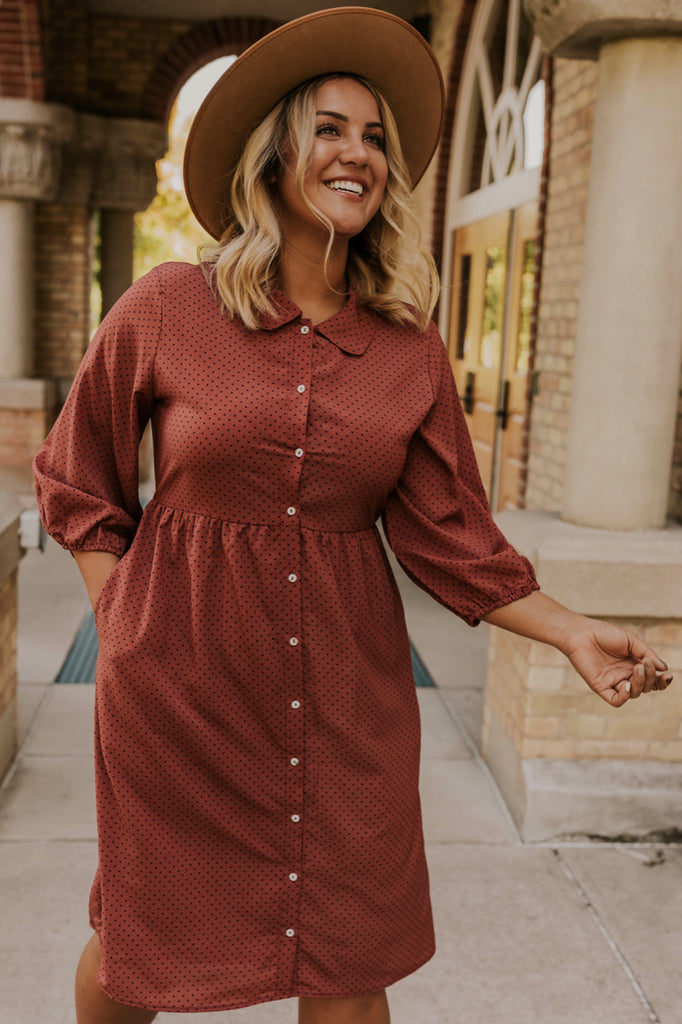Nursing Friendly Dress | ROOLEE