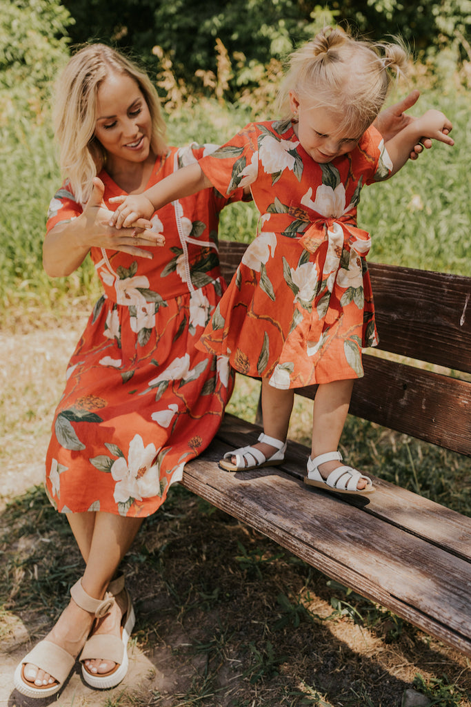 Girls Floral Dresses | ROOLEE