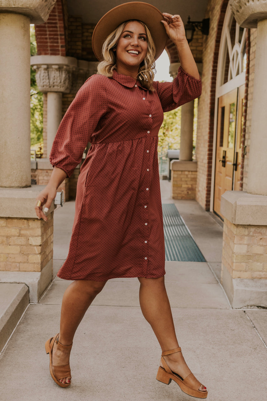 Modest Midi Dress | ROOLEE