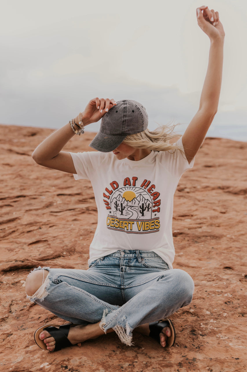 Desert Vibes Graphic Tee | ROOLEE