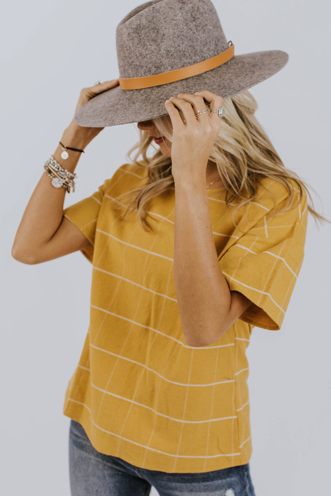 Yellow Shirt for Fall | ROOLEE