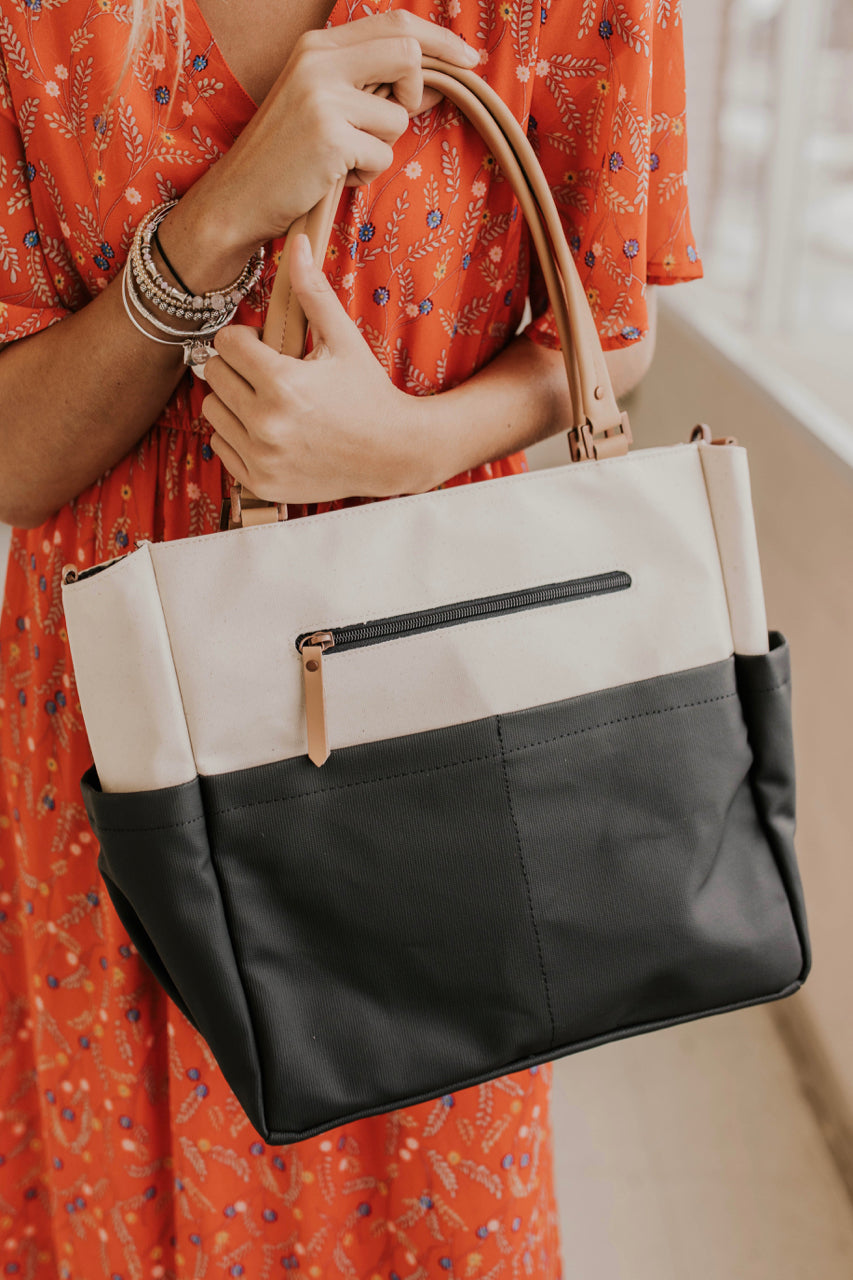 Diaper Bag Purse Outfit Ideas | ROOLEE