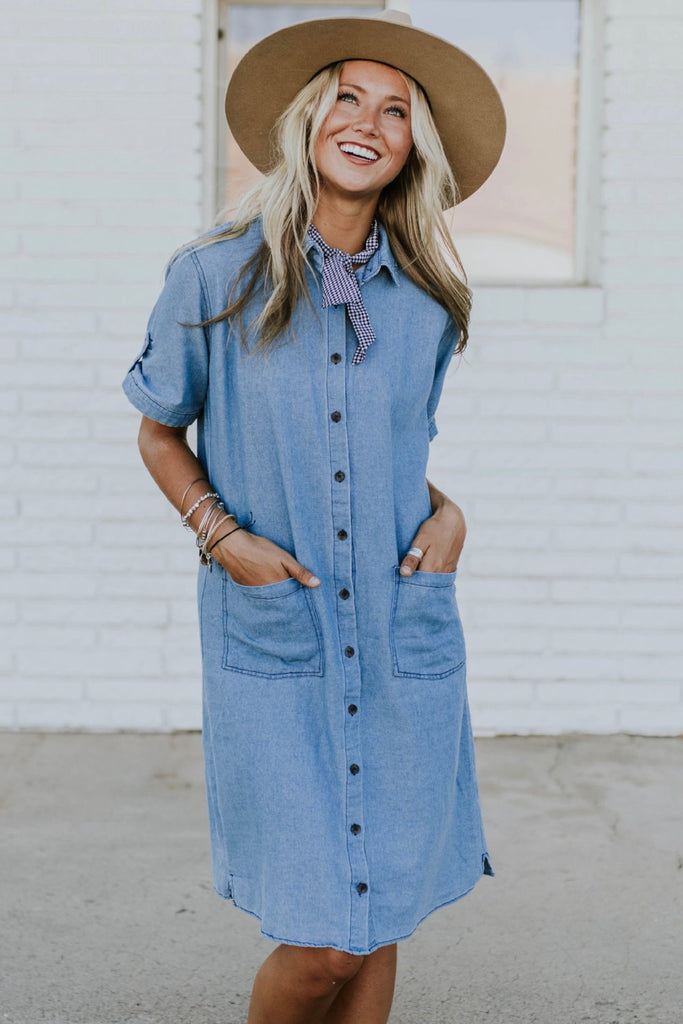 Breckenridge Denim Dress | ROOLEE