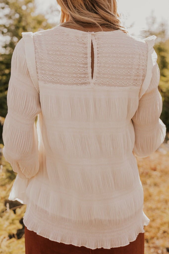 Lace Formal Blouse | ROOLEE