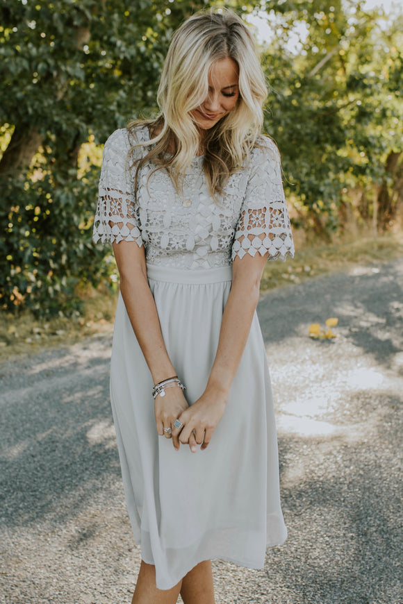 Sylvia Lace Dress | ROOLEE