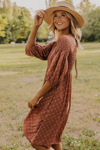 Patterned Fall Dresses | ROOLEE