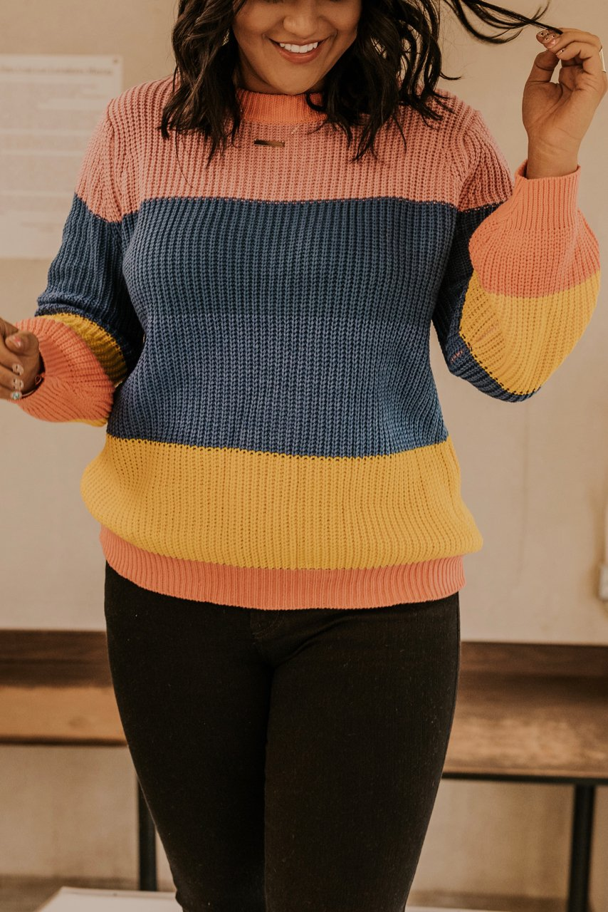 Womens Bright Color Sweaters | ROOLEE