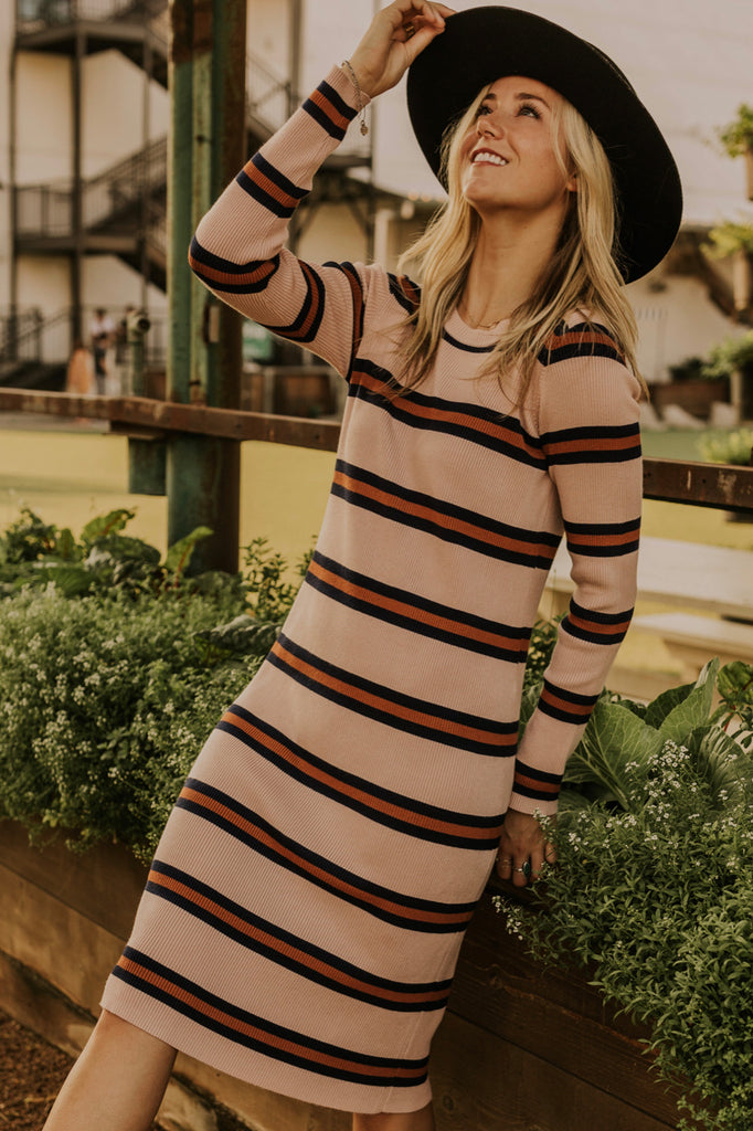 Warm Fall Color Dress | ROOLEE
