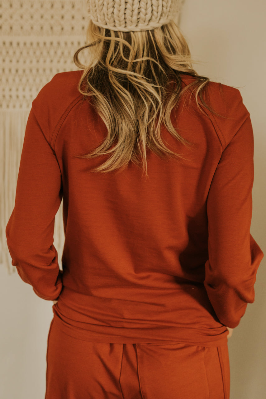Long Sleeve Pullover Sweater | ROOLEE