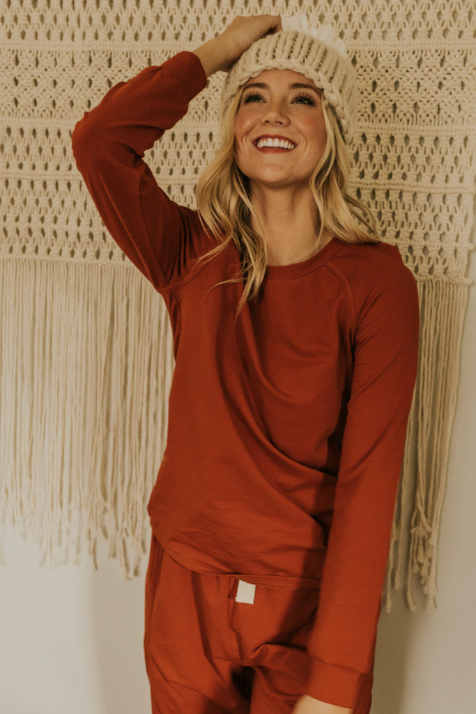 Red Pajama Set | ROOLEE