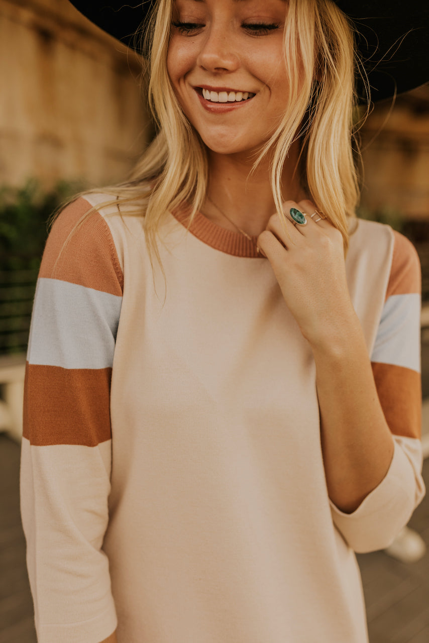 Crew Neck Line Dress | ROOLEE