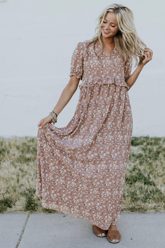Monticello Floral MOM Maxi | ROOLEE