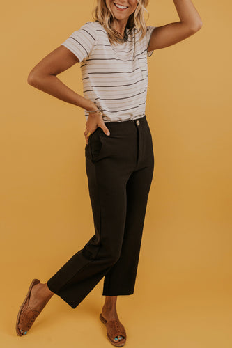 Black Pants for Women | ROOLEE
