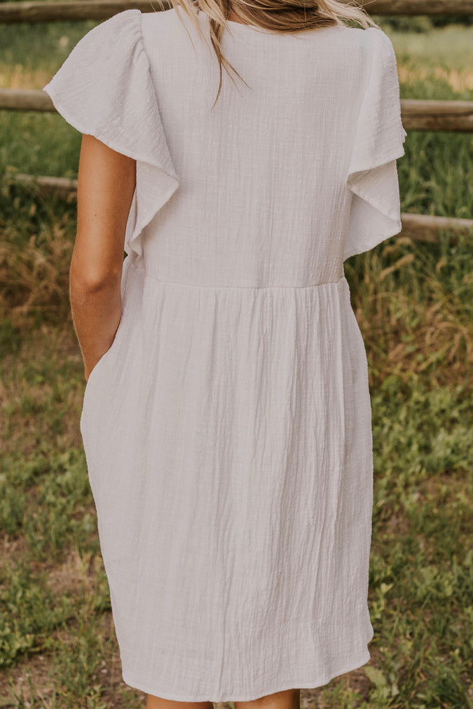 Summer Ruffle Dress | ROOLEE