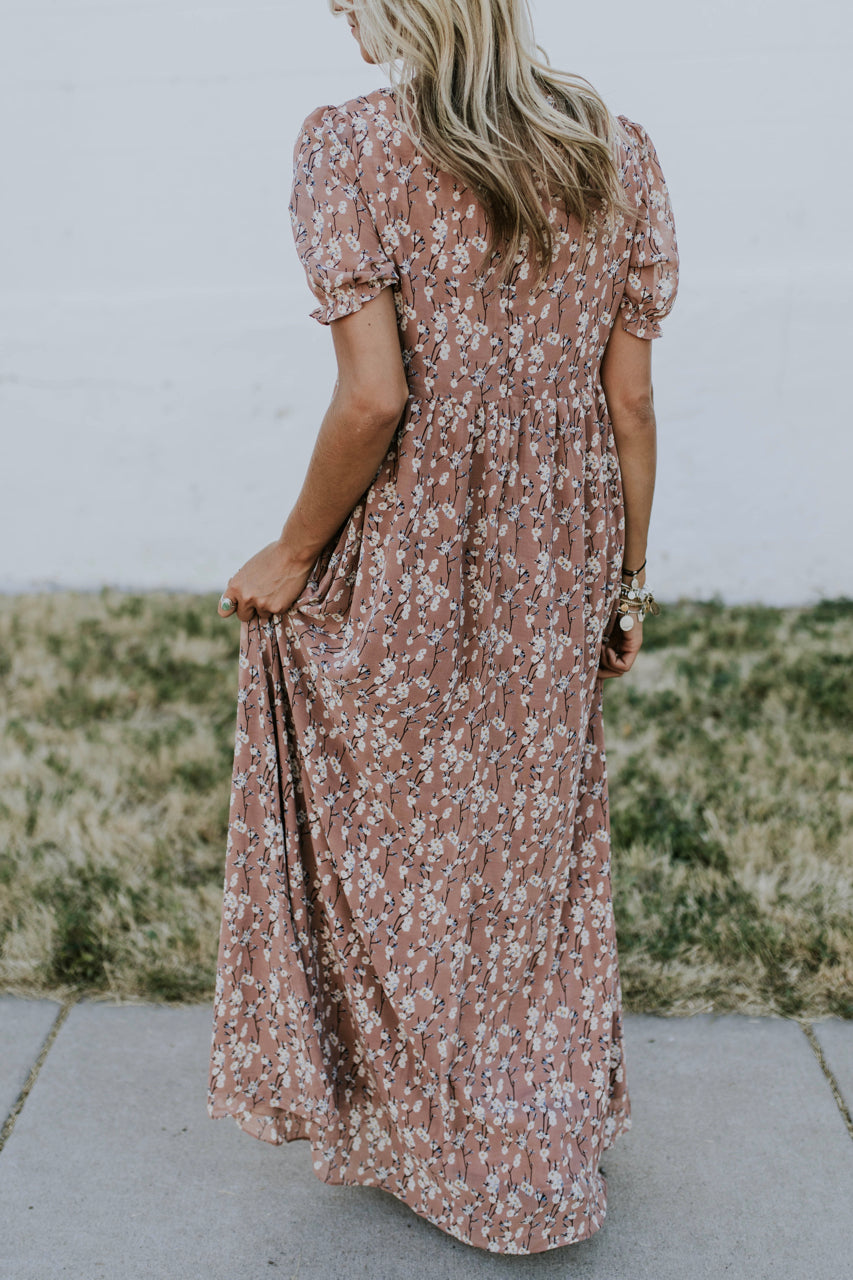 Flowing Floral Maxi Dress | ROOLEE