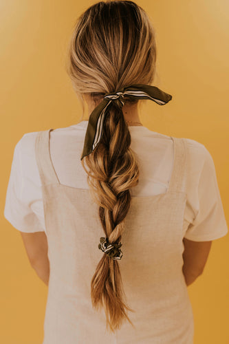 Scrunchie with Removable Bow | ROOLEE