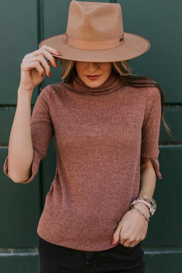 Jensen Knit Turtleneck | ROOLEE