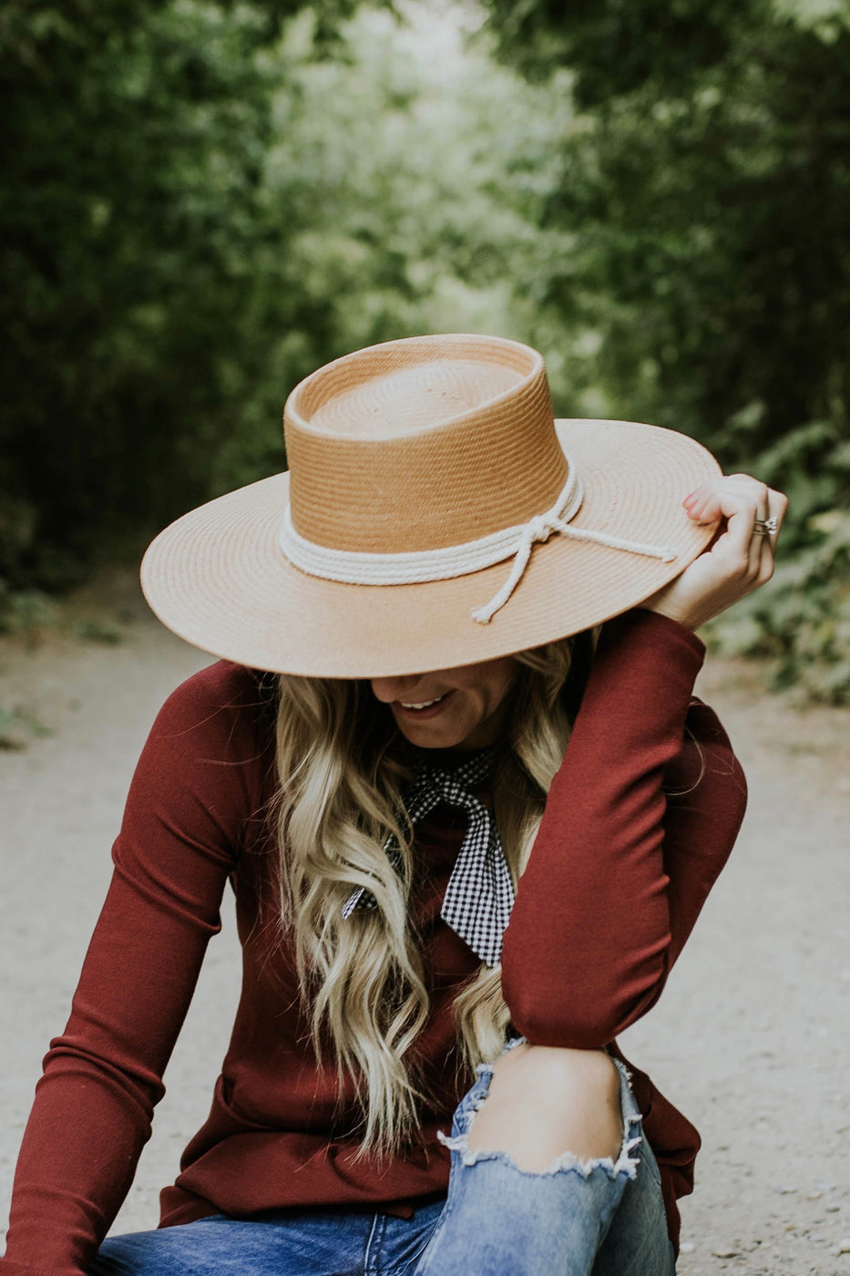 Women's Fashionable Straw Hat | ROOLEE