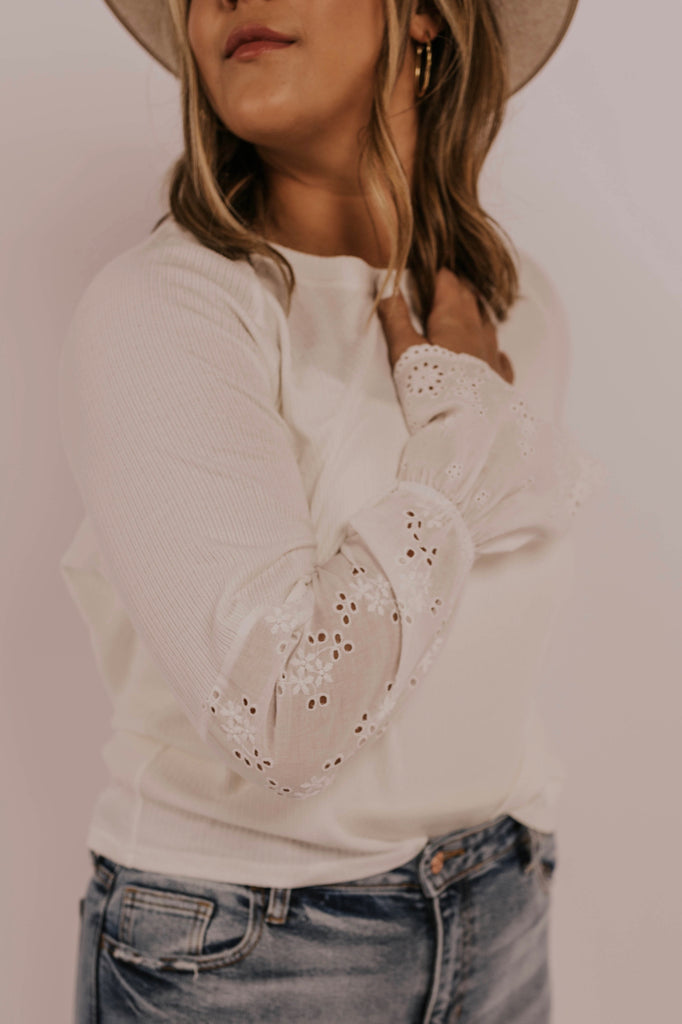 White Long Sleeve | ROOLEE