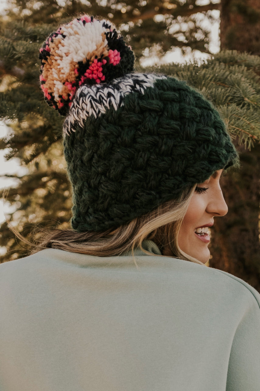 Green Holiday Beanie | ROOLEE