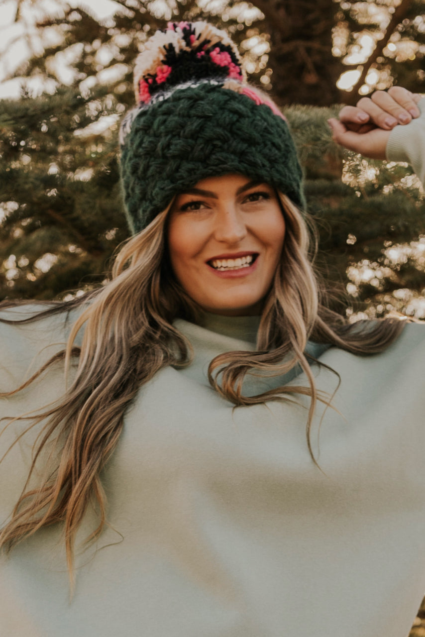 Multi Color Winter Beanie | ROOLEE