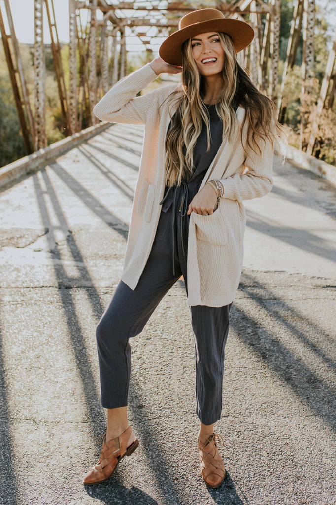 Jumpsuit Outfit for Fall | ROOLEE
