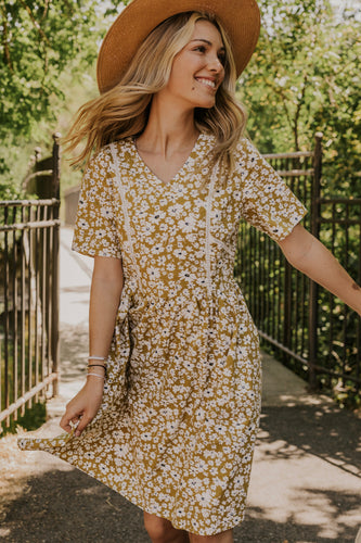 Mini Eden Floral Dress