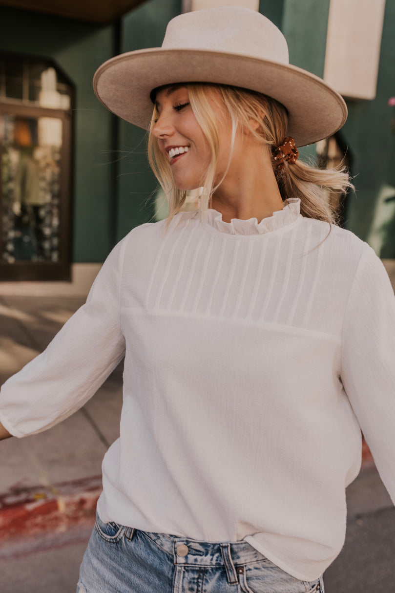 The MaryBelle Blouse