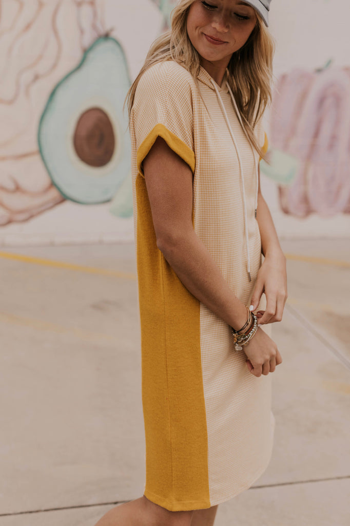 Yellow Casual Dress | ROOLEE