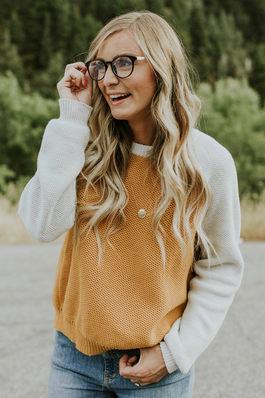 Baseball Tee Sweater for Fall | ROOLEE