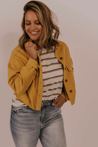 Spring Cropped Jacket Outfit | ROOLEE