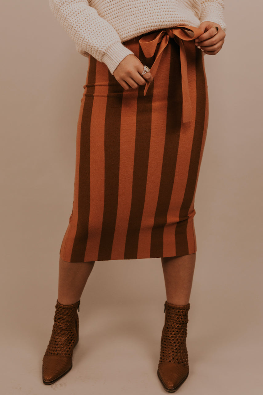 Striped Skirts for Winter | ROOLEE