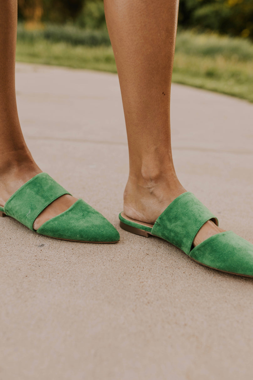 Green Shoes For Women | ROOLEE