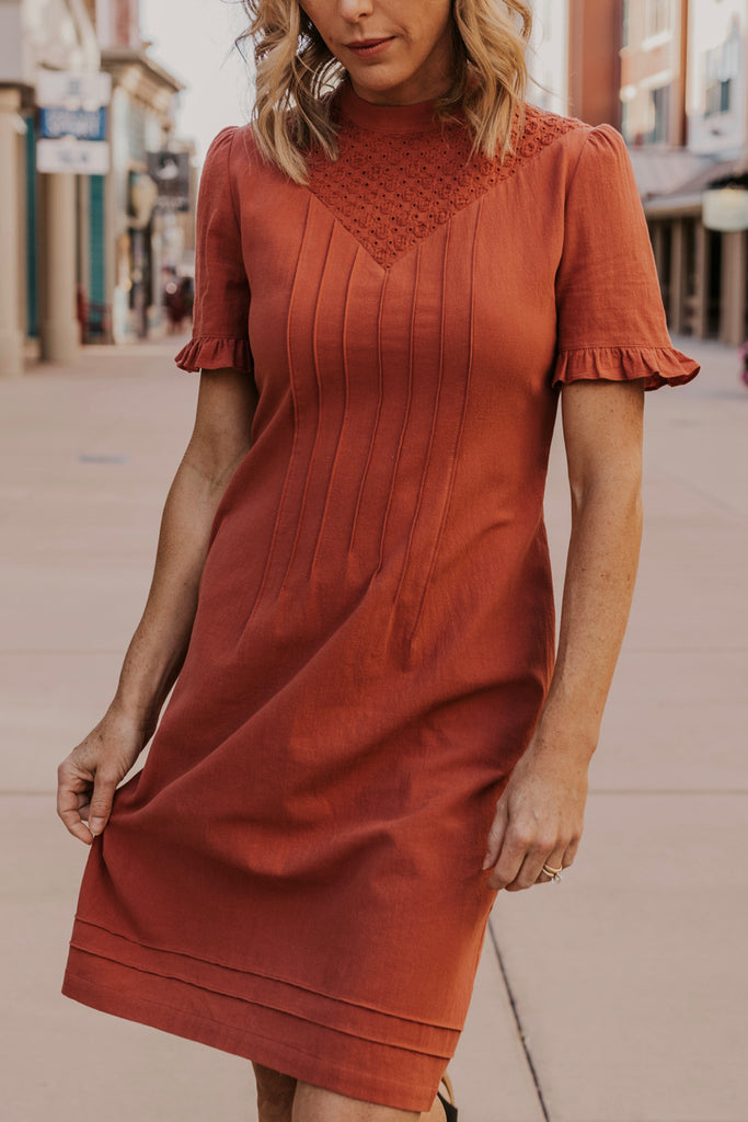 High Neck Dress | ROOLEE