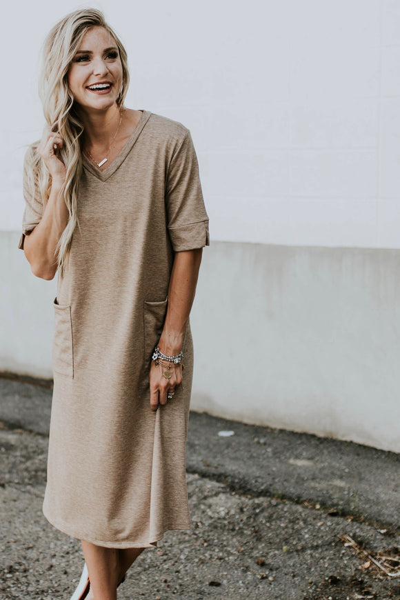 Goodwin Pockets Dress | ROOLEE