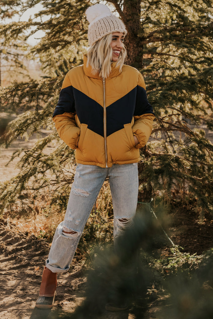 Cropped Puffer Jacket | ROOLEE