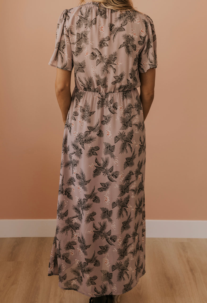 Lavender Maxi Dress for Women | ROOLEE