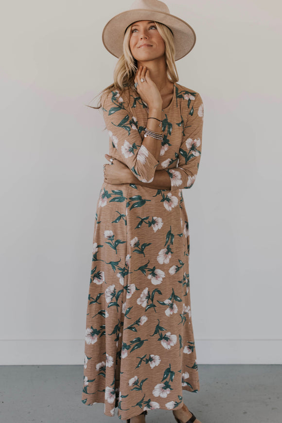 Floral Dress For Moms | ROOLEE