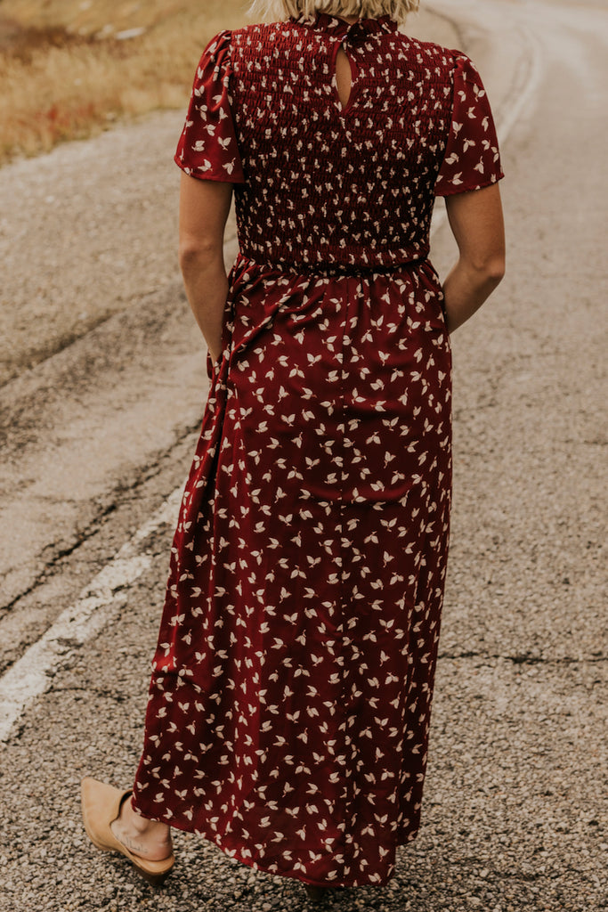 Full Length Maxi Skirt Maternity Dresses for Winter | ROOLEE