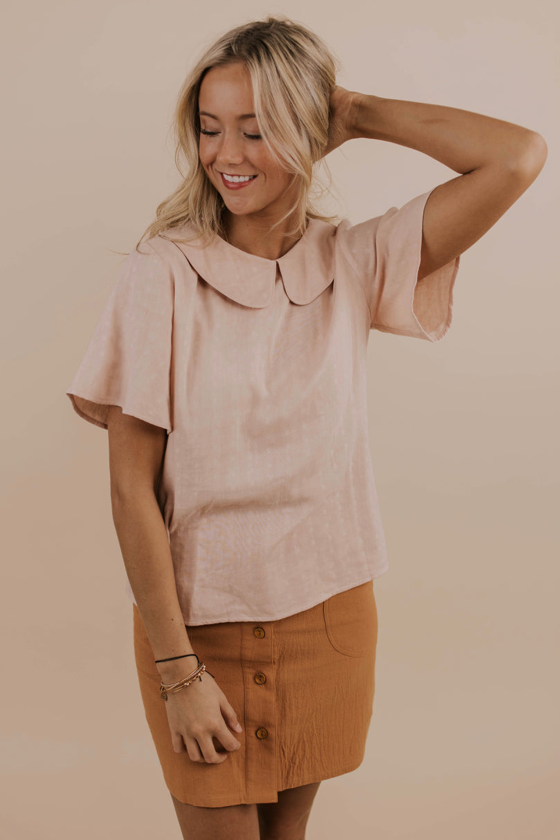 Southern Flowy Sleeve Blouse | ROOLEE