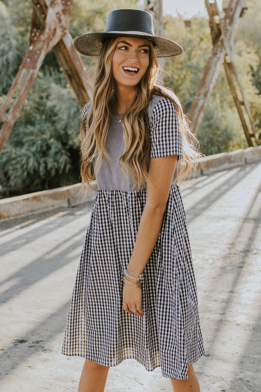 St. Louis Gingham Dress | ROOLEE