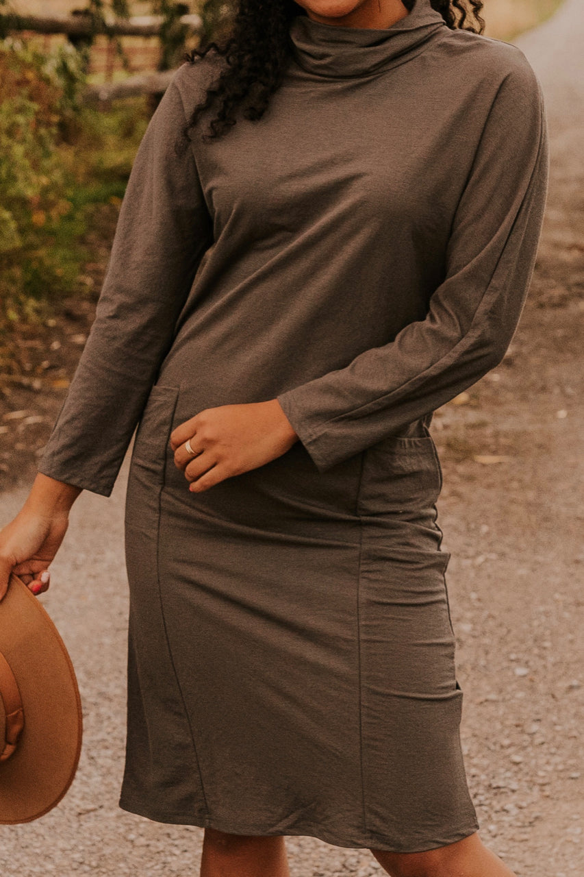 Grey Dress | ROOLEE