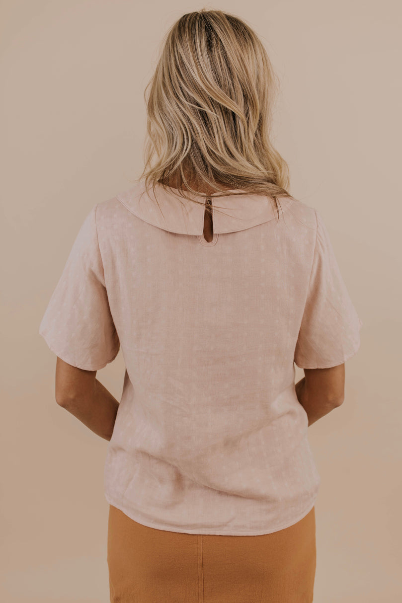 Charming Pink Blouse | ROOLEE